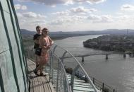 Uitzicht op de Donau