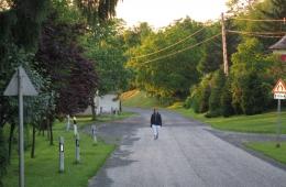 De Hoofdstraat van het dorp (Fo Utca)
