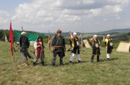 Folklore net buiten het dorp