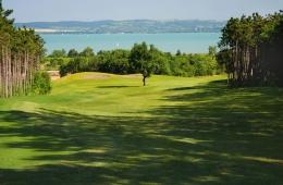 Golfbaan bij het Balatonmeer