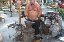 Smid op de markt in Héviz