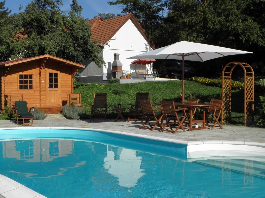 Villa Zala met zwembad en sauna
