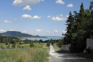 Balaton uitzicht
