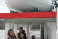 Op de boot naar Tihany