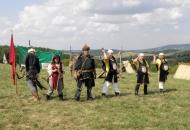 Show in de heuvels bij het dorp