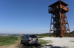 Uitkijktoren bij het dorp