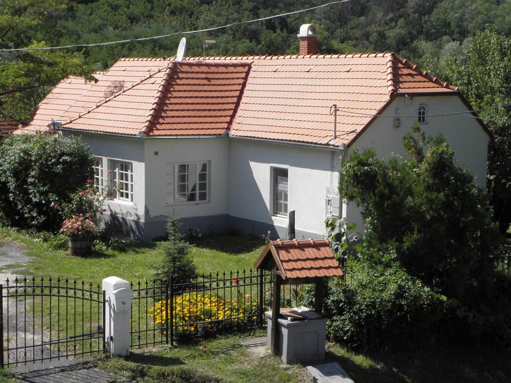 Villa Zala van bovenaf